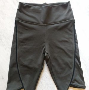 FABLETICS X Small Olive Green Biker Length Shorts